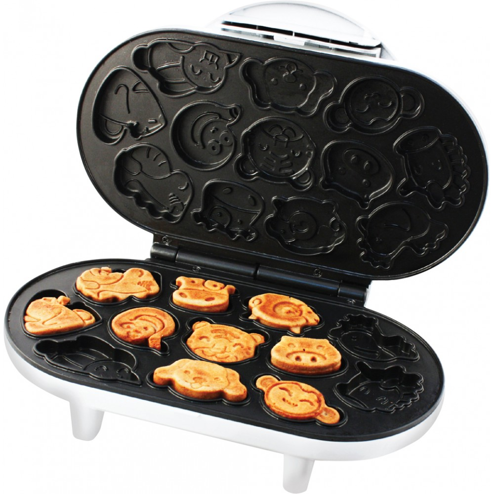 Смайликовые вафли для маленьких гурманов