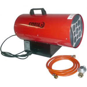 Как выбрать электрическую тепловую пушку на 220В для дома, дачи и гаража