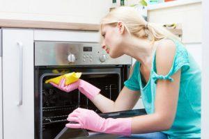 Как мыть духовку